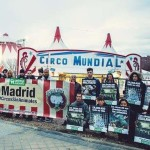 Concentración por unos circos sin Animales en Las Rozas de Madrid