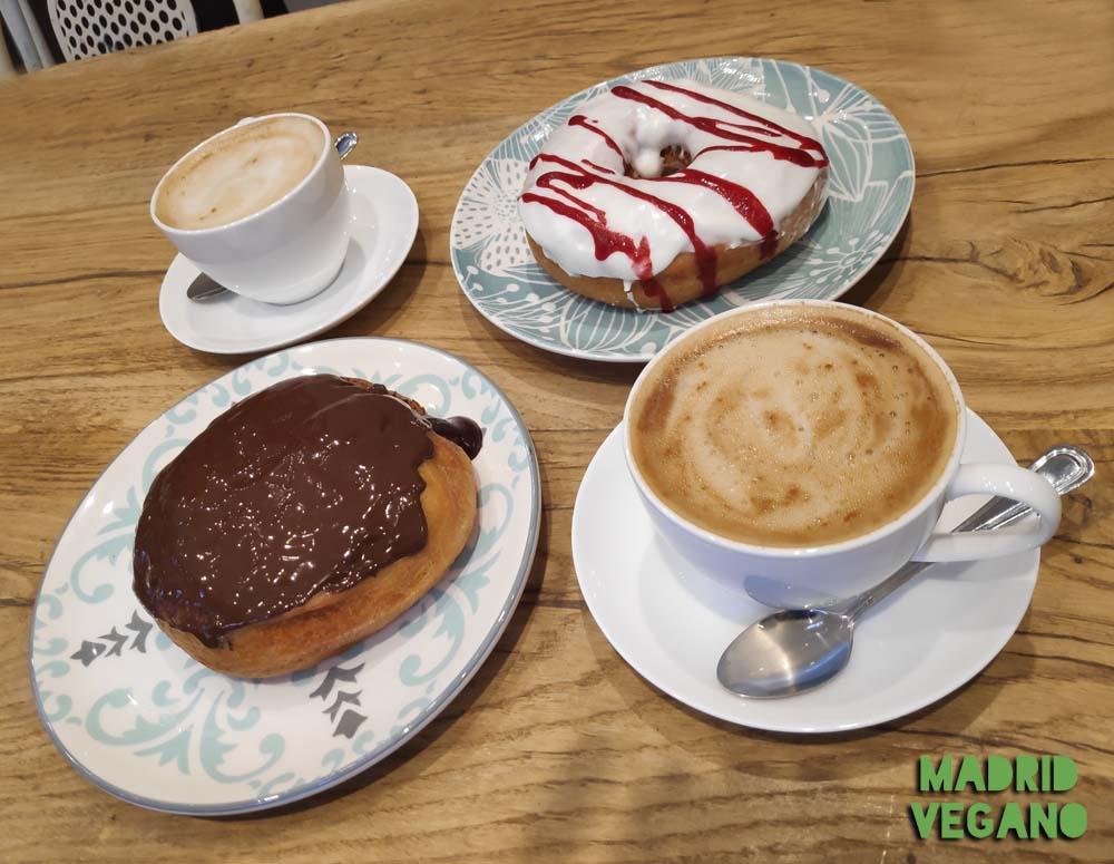 Vegamazing, donuts veganos en el barrio de Salamanca