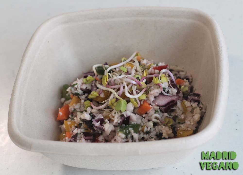 La Veggyteca, comida para llevar vegana, sin gluten y sana