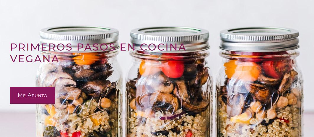 Primeros pasos en la cocina vegana (noviembre)