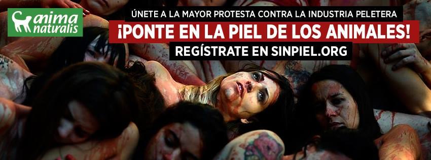 Sin piel. Protesta contra la industria peletera