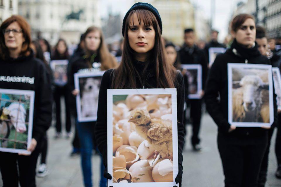 Acto por el Día de los Derechos Animales 2019