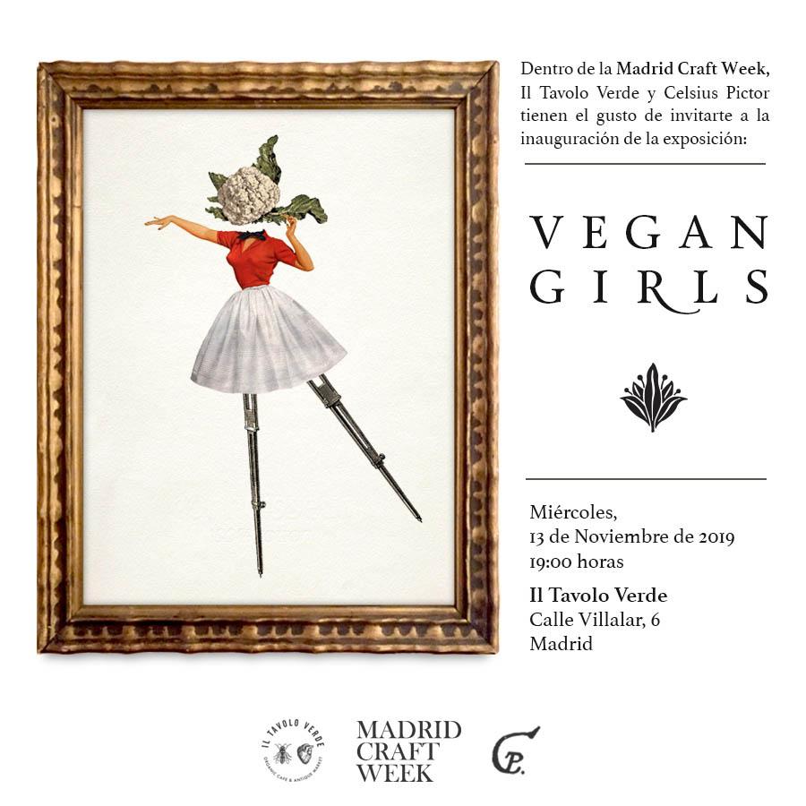 "Exposición ""Vegan Girls"" de Celsius Pictor"