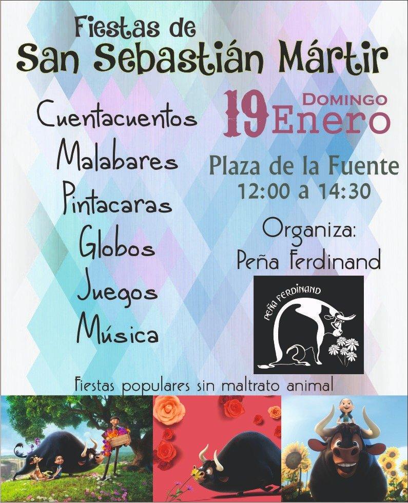 Evento de la Peña Ferdinand en San Sebastián de los Reyes