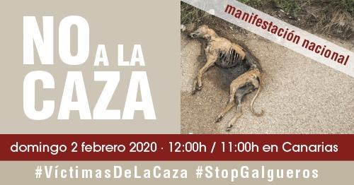 Manifestación #NoalaCaza2F