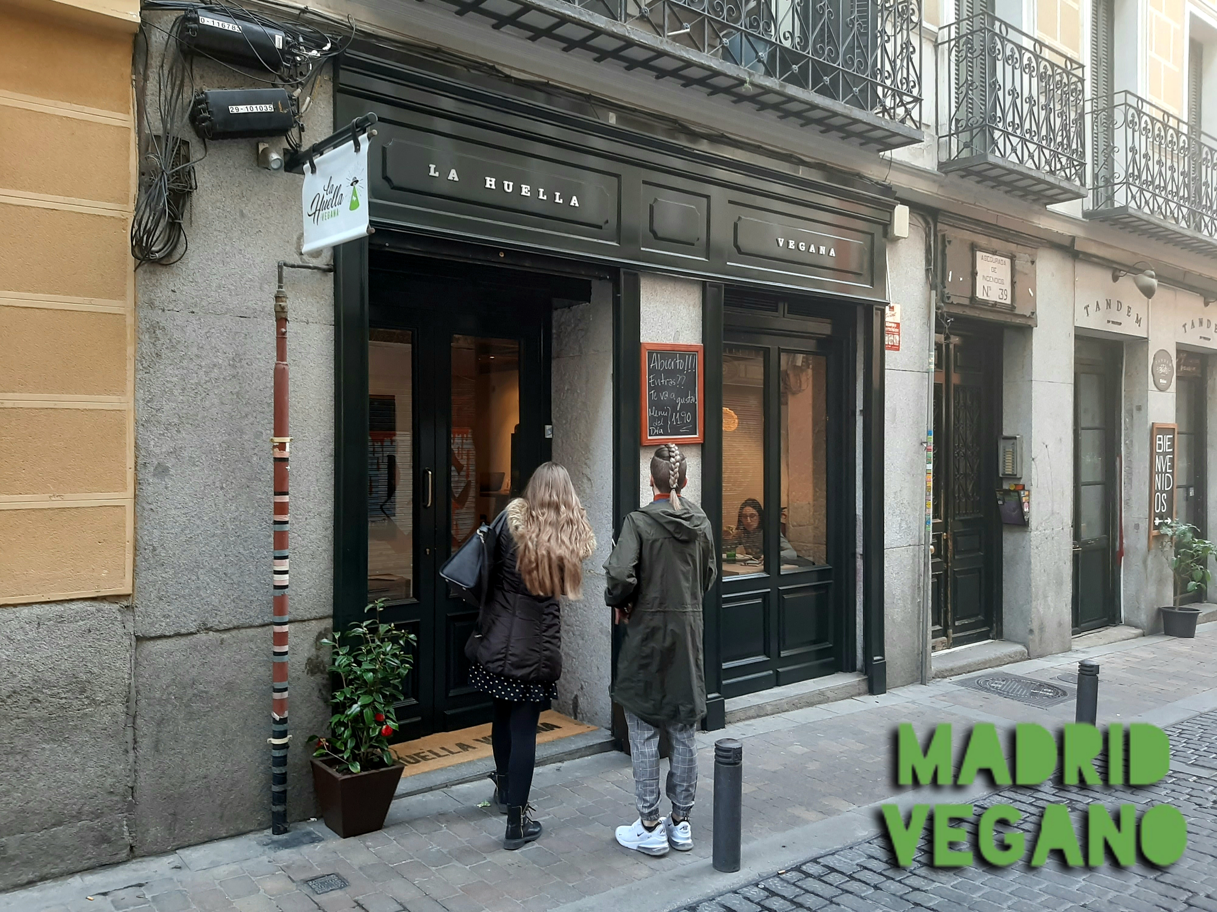 La Huella Vegana llega al centro de Madrid