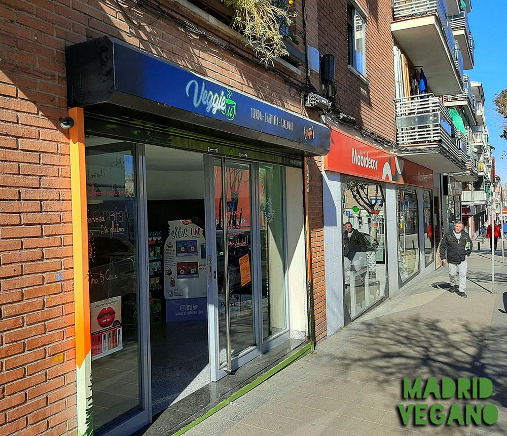 VeggieU, nueva tienda y cafetería vegana en Vallecas