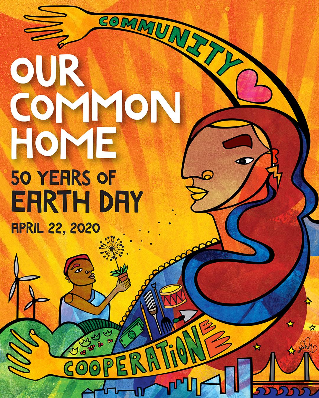 """""""Día de la Tierra"""", 50 aniversario marcado por la acción contra el cambio climático"""