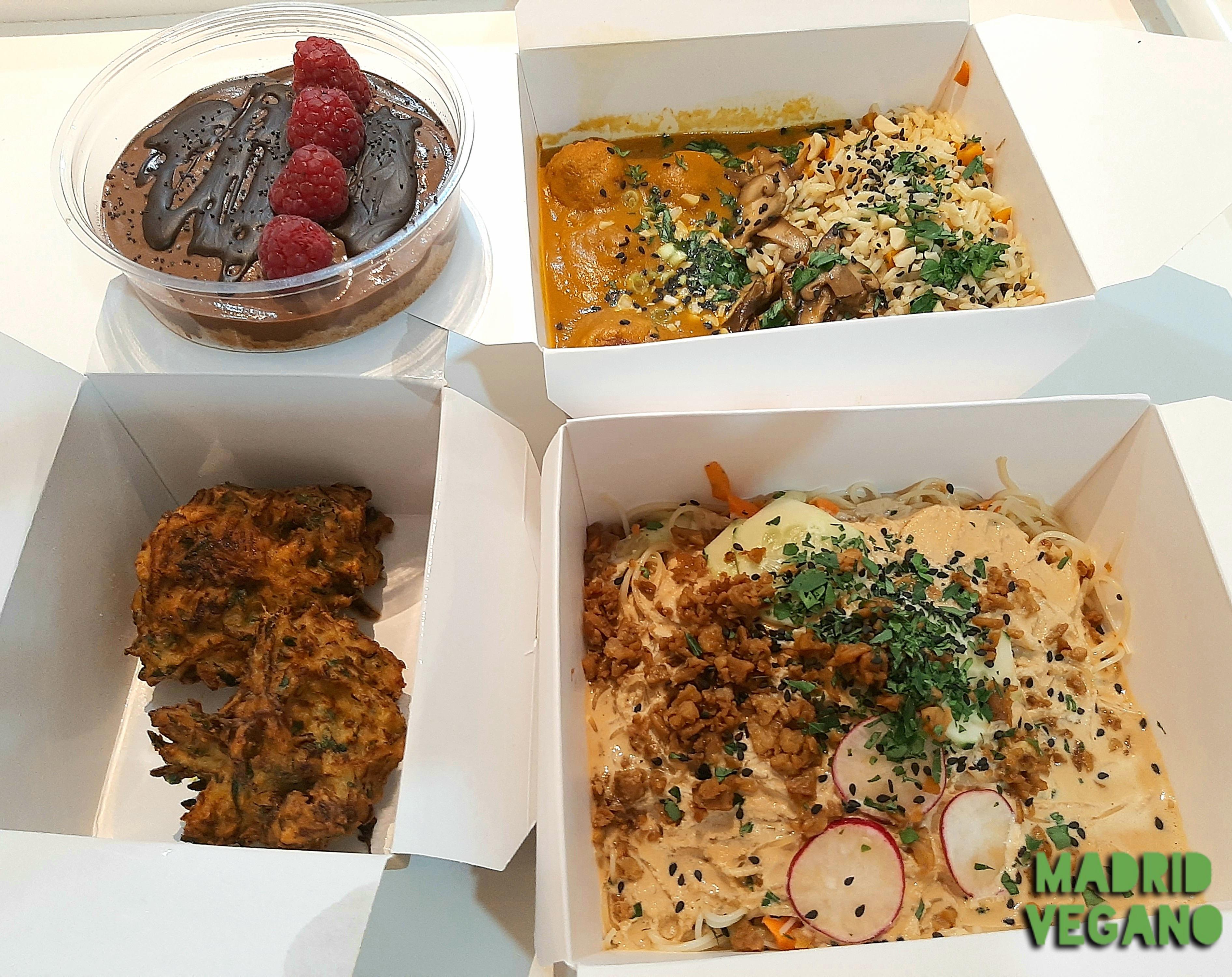 Romero Verde, rica comida vegana en Malasaña