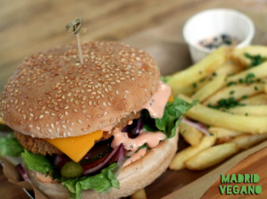 Cinco motivos para disfrutar de una hamburguesa vegana