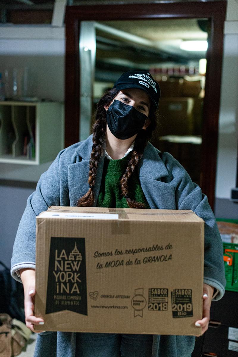 La Neoyorkina, granola asturiana, solidaria y con opciones veganas
