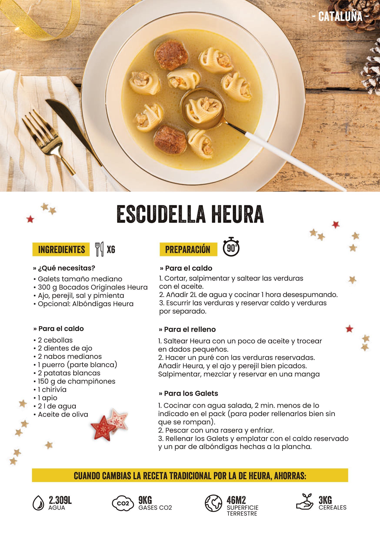 Ocho ideas para cocinar en Nochevieja de la mano de Heura