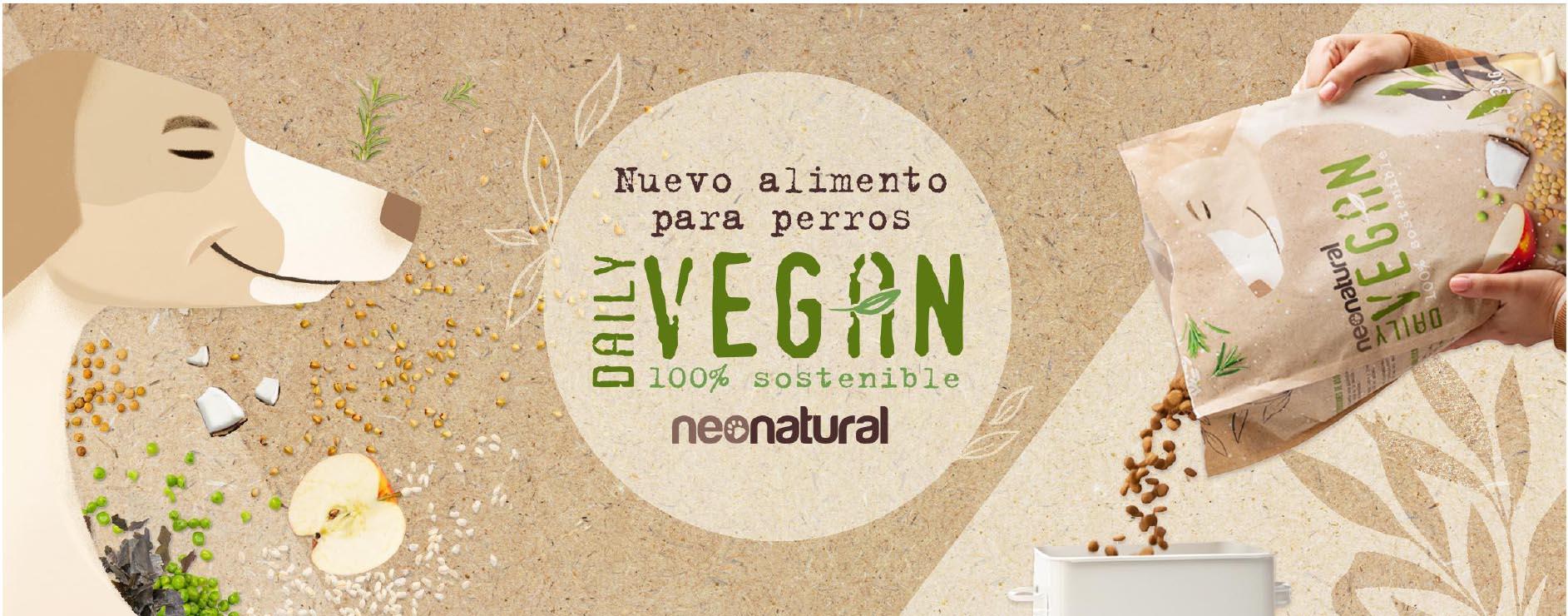 NeoNatural presenta su primer alimento 100 % vegetal para perros