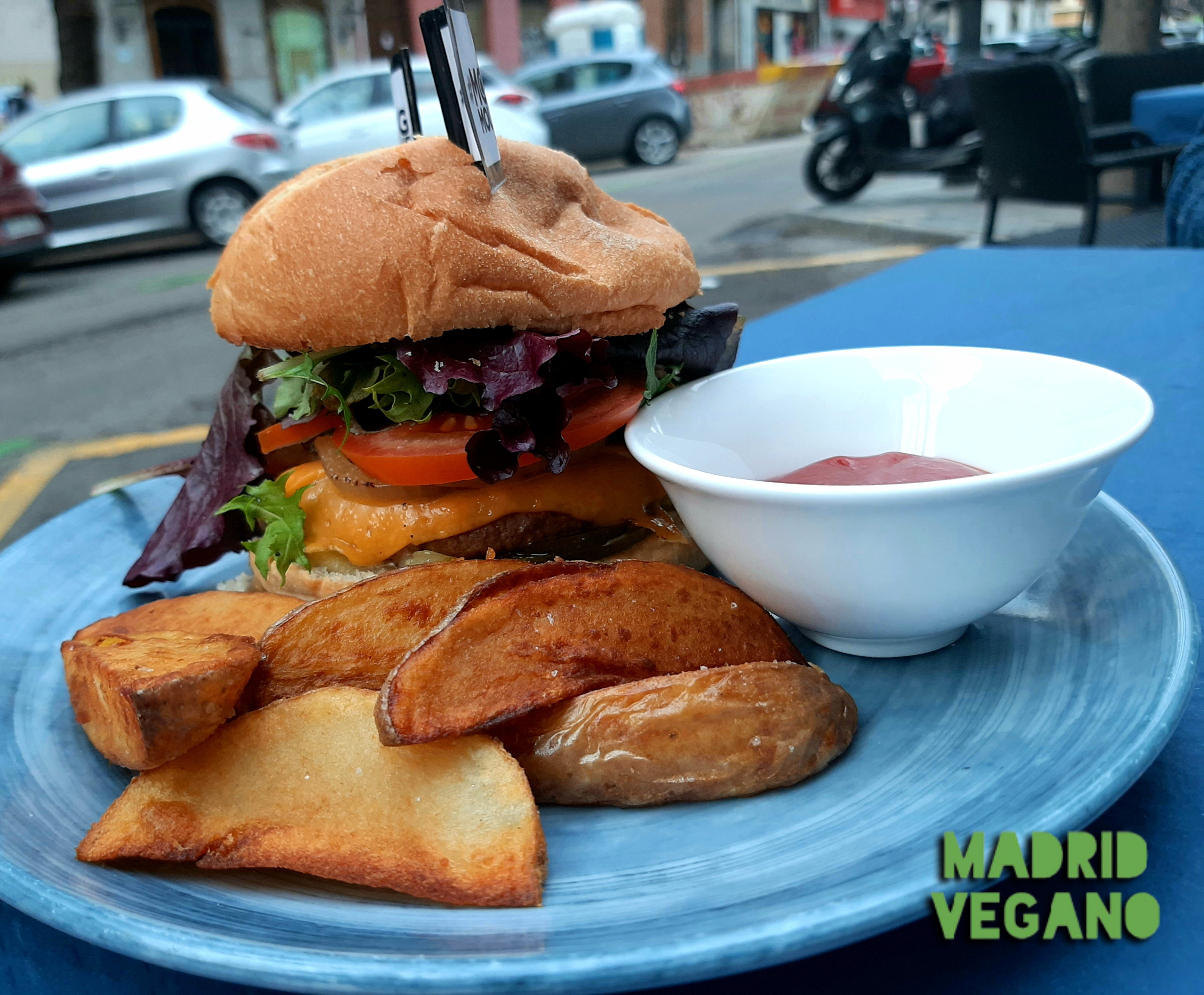 De terrazas veganas por Madrid
