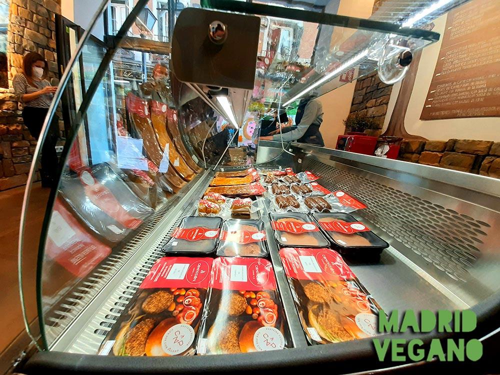 Carne vegetal, el sustituto vegano de moda