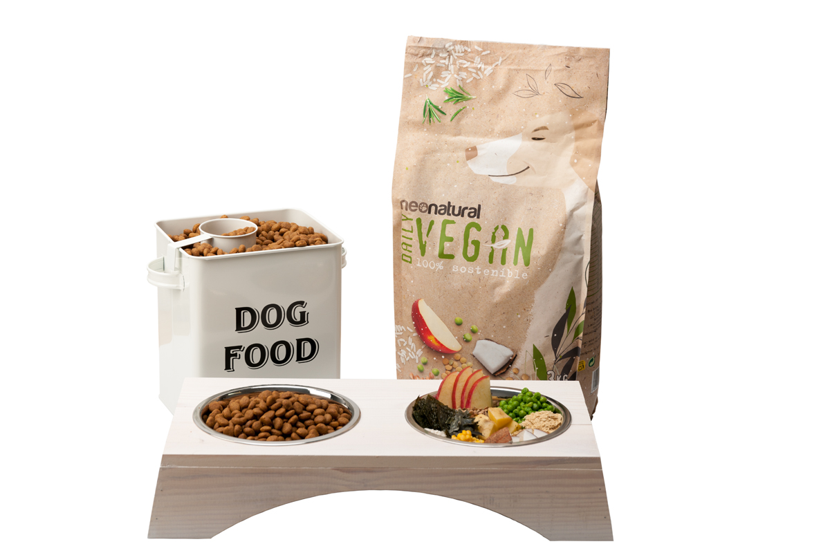 Sorteo de alimento para perros Neonatural Vegan Daily