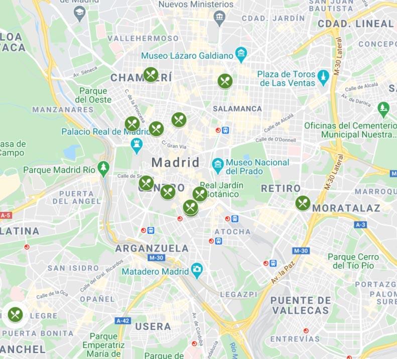 La ruta de la croqueta vegana por Madrid