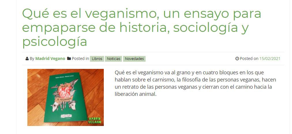 10 libros veganos imprescindibles