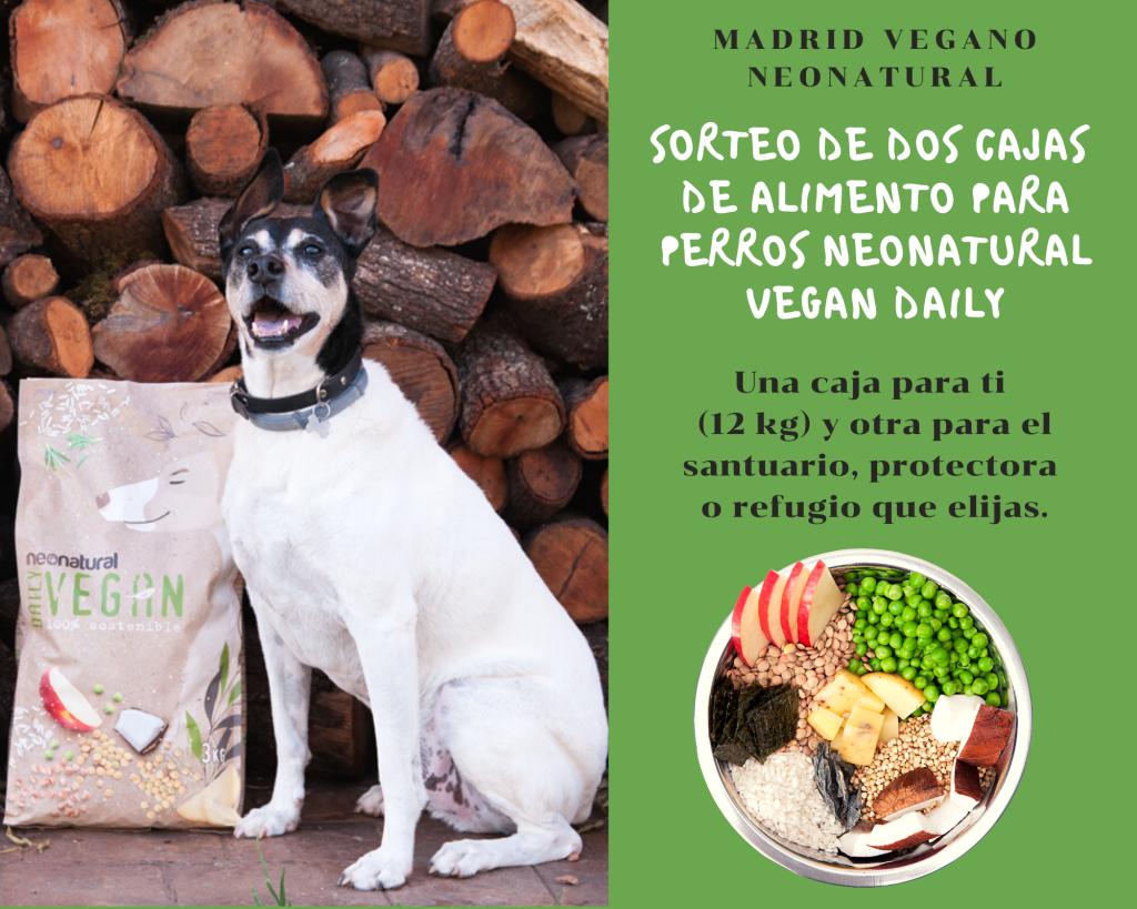 Sorteo de alimento para perros Neonatural Vegan Daily (CERRADO)