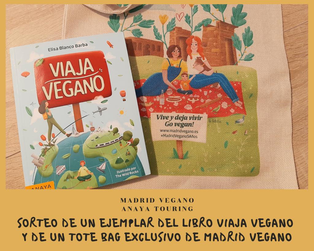 Sorteo del libro Viaja vegano por el Día Internacional del Libro