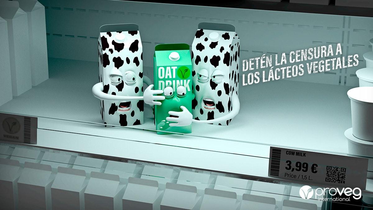 La censura a los lácteos vegetales