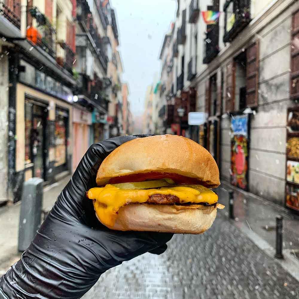 Ruta de la burger vegana