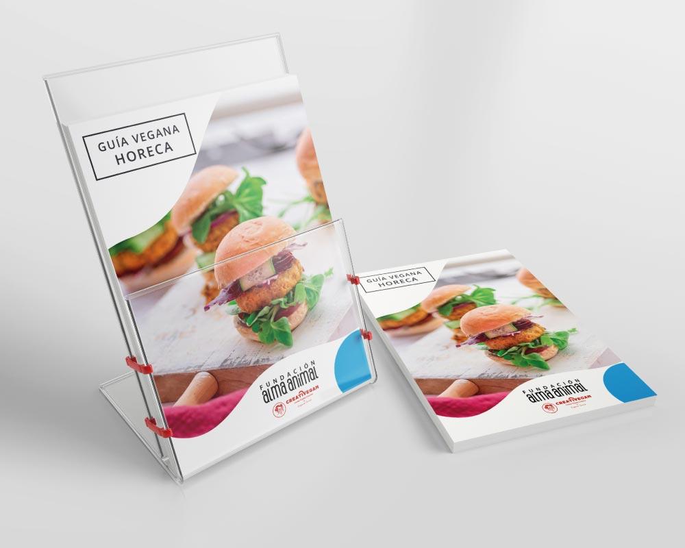 Guía gratuita de platos veganos para el sector hostelero