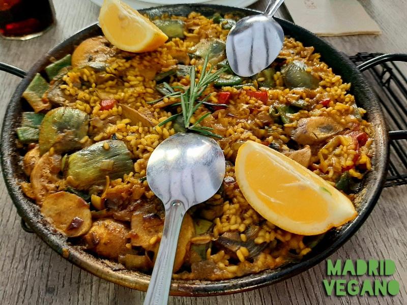 Tabernas y bares veganos en Madrid para tapear