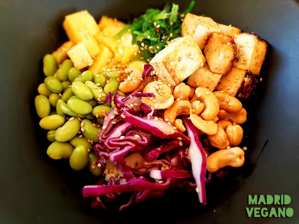 Comer vegano en Rivas Vaciamadrid