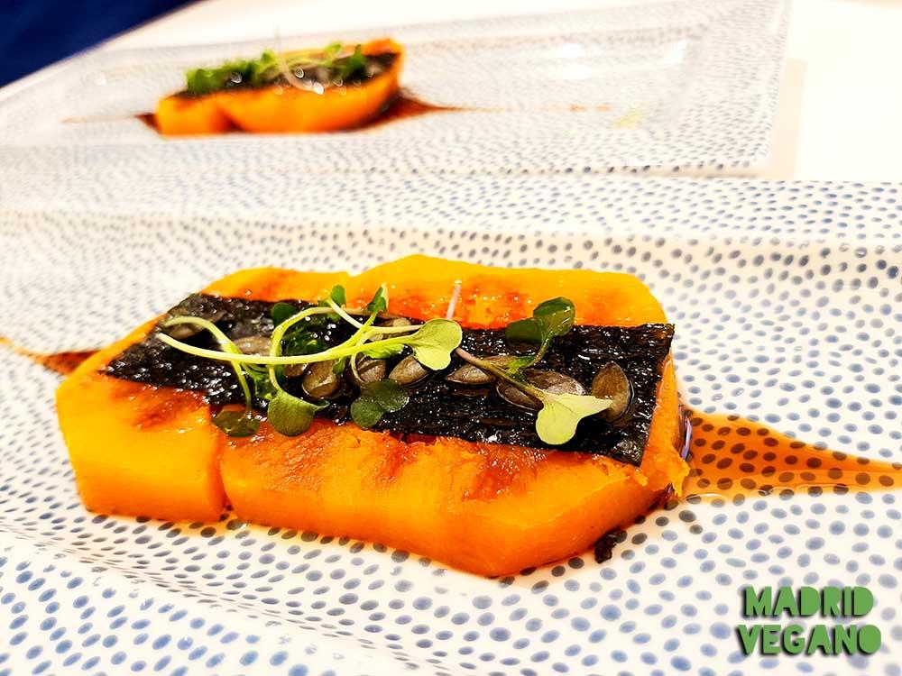 Cocina vegana gourmet en Madrid