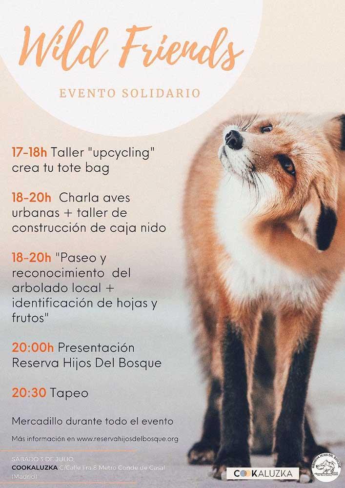 Evento solidario Reserva Hijos del Bosque