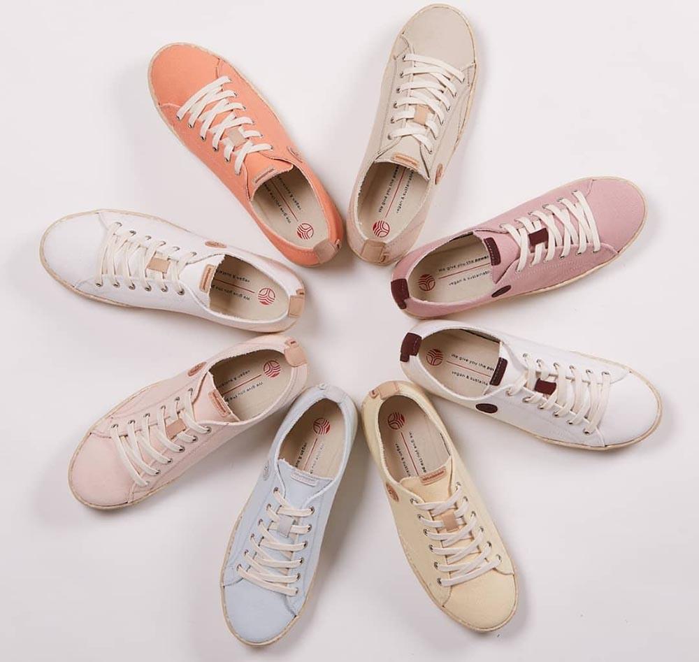 Materiales veganos para el calzado
