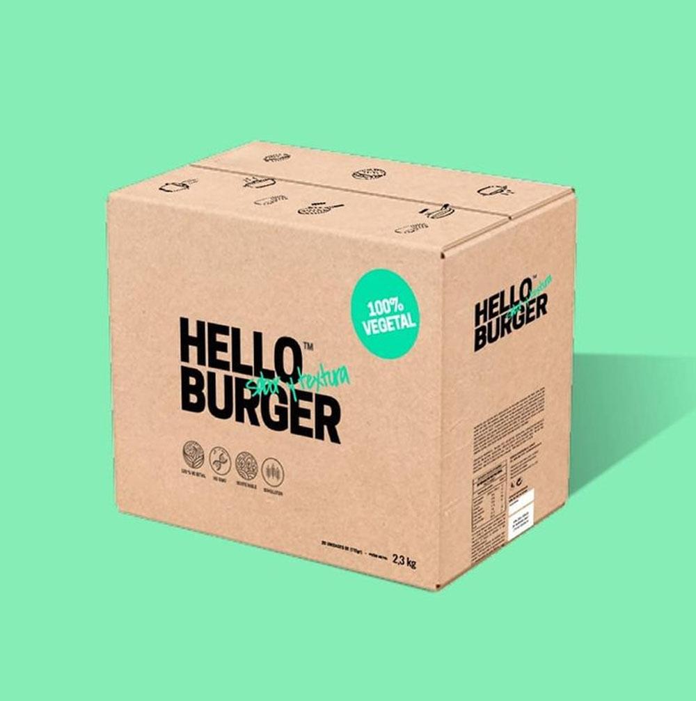 Hello burger, vegetal, sin gluten y sana