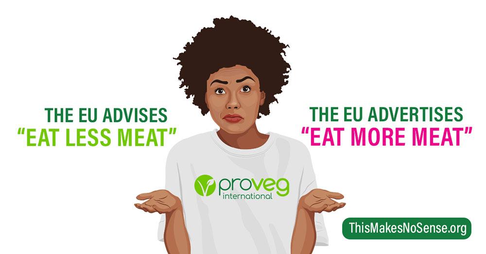 El 95 % pide a la UE que no promocione carne y lácteos