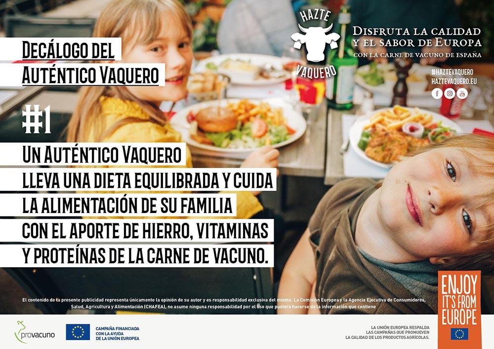 UE no promocione carne y lácteos