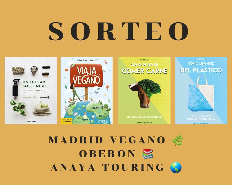 Sorteo: libros para una «vuelta al cole» sostenible (CERRADO)