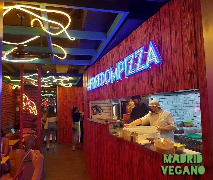 pizza y brunch vegano