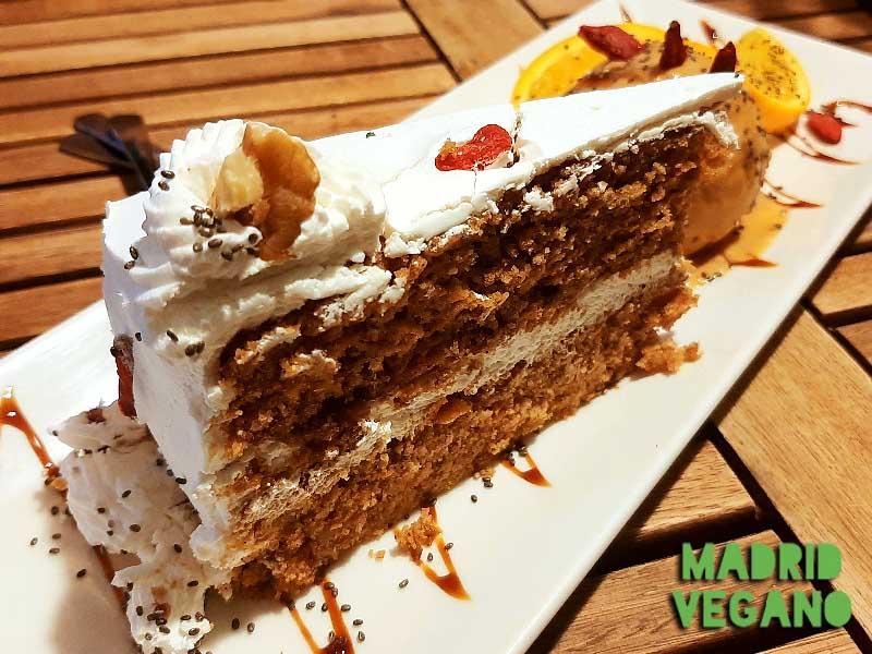Comer vegano en el centro de Madrid: Sannisimo
