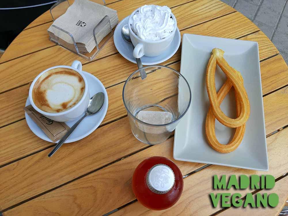 Comer vegano en Madrid Río